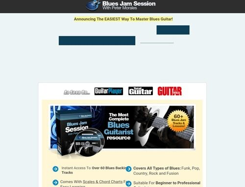 60 Of The Best Blues Backing Tracks – Download Professional Blues Jam Tracks – Create Riffs, Licks and Solos Easily