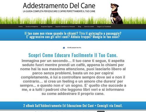 Libro Addestramento Del Cane, il modo migliore per educare il cane. Libri ed ebooks sull'addestramento e la cura dei cani. — Corso Addestramento Cani Online – Un libro di Nicola Ruggero