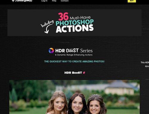 Photo Boost | Premium Photoshop Actions