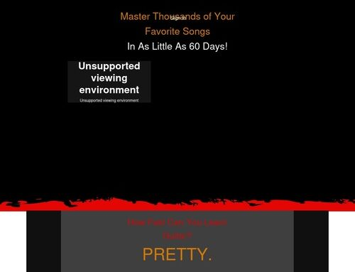 Rock Guitar Mastery – The Fastest and Easiest Way To Learn Guitar… Period.