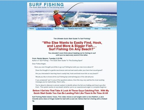 Surf Fishing – The Quick Start Guide To This Exciting Sport