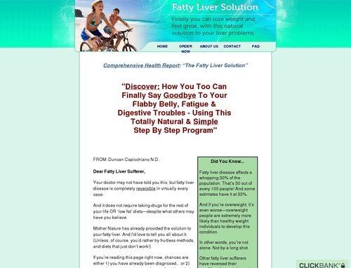 The Fatty Liver Solution