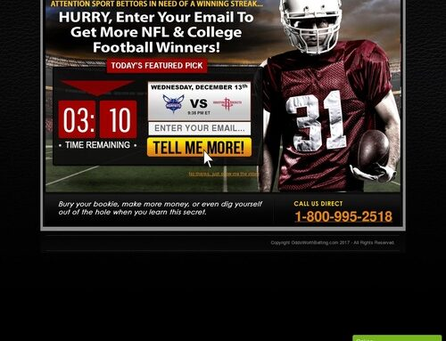Winning with Odds Worth Betting – NFL, College Football, MLB, NBA, an…